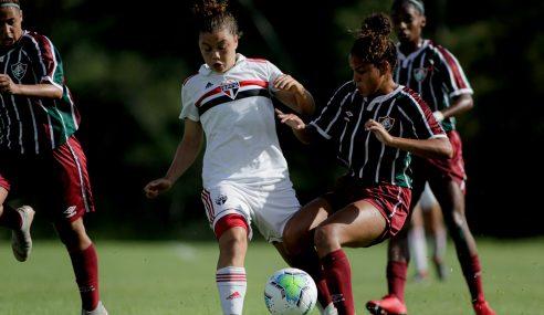 São Paulo derrota Fluminense e vence a segunda no Brasileirão Feminino Sub-18