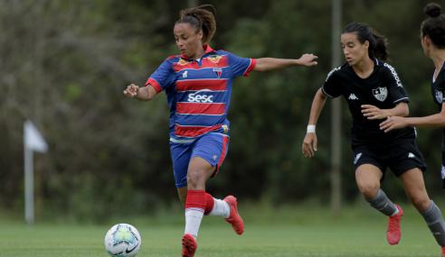 Fortaleza vence Botafogo e aplica outra goleada no Brasileirão Feminino Sub-18