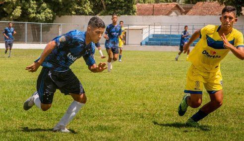 Caruaru City reage e pontua pela primeira vez no Pernambucano Sub-15