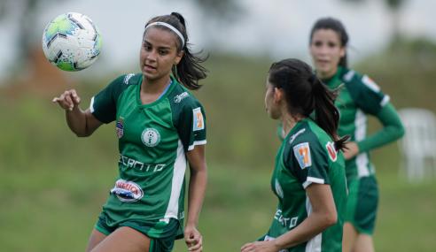 Duda faz dois e comanda vitória do Iranduba sobre o São Francisco-BA pelo Brasileirão Feminino Sub-18
