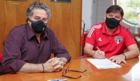 São Paulo confirma Marcos Biasotto como novo executivo da base