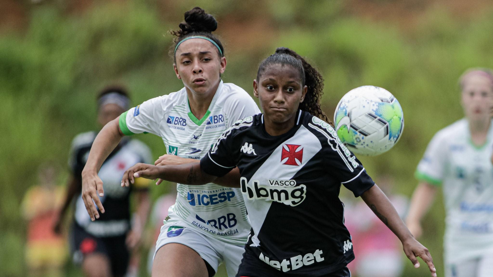 Minas Brasília e Vasco não saem do zero e empatam a segunda no Brasileirão Feminino Sub-18