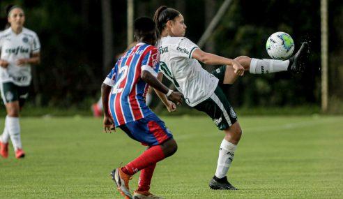 Palmeiras bate Bahia e soma seus primeiros pontos no Brasileirão Feminino Sub-18
