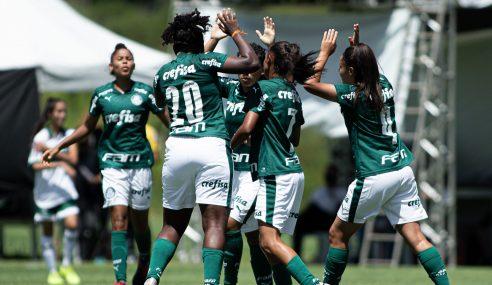 Palmeiras derrota Toledo/Coritiba de virada e vence a segunda no Brasileirão Feminino Sub-18