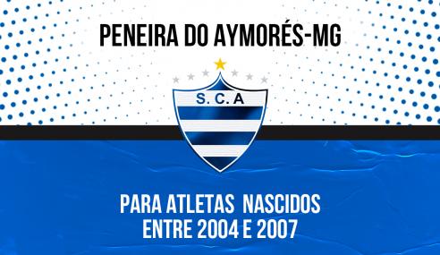 Aymorés-MG abre inscrições para peneira em duas categorias