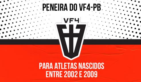 VF4-PB realizará peneira para quatro categorias