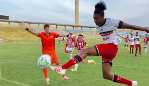 São Paulo bate River-PI e fará clássico nas semifinais da Copa do Brasil Sub-17