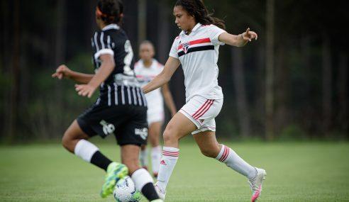 São Paulo massacra Corinthians em estreia no Brasileirão Feminino Sub-18