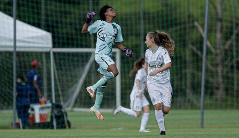 Grêmio surpreende São Paulo e vence a primeira no Brasileirão Feminino Sub-18