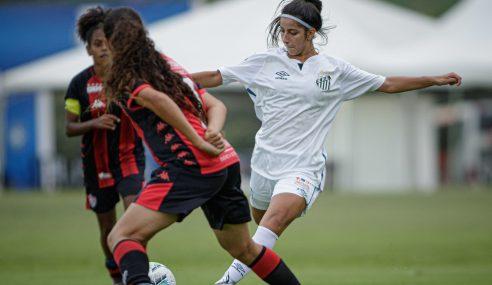 Santos bate Vitória e estreia bem no Brasileirão Feminino Sub-18