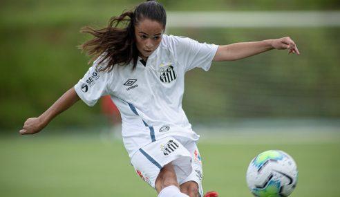 Santos goleia Sport e segue na liderança do Grupo C do Brasileirão Feminino Sub-18