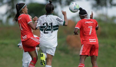 Internacional supera Toledo/Coritiba e segue 100% no Brasileirão Feminino Sub-18