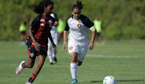 Em jogo de seis gols, Sport bate Vitória pelo Brasileirão Feminino Sub-18