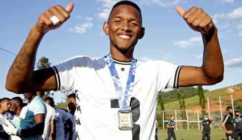 Botafogo promove dois atletas do sub-20 em definitivo