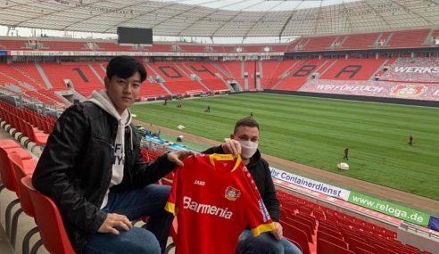 Bayer Leverkusen-ALE anuncia contratação de sul-coreano de 16 anos