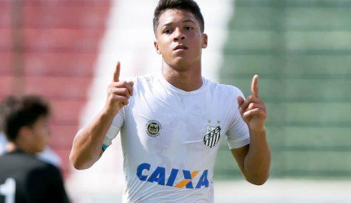 Base do Santos é a primeira a fazer mais de 50 gols no Brasileirão de 2020