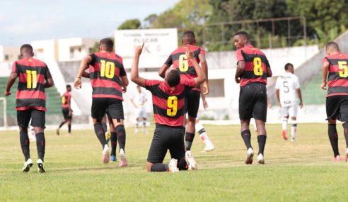 Sport vence Santa Cruz e garante vaga antecipada nas semifinais do Pernambucano Sub-17