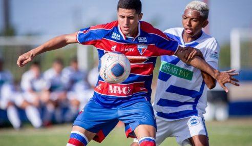 Gol contra põe Fortaleza na semifinal do Cearense Sub-17