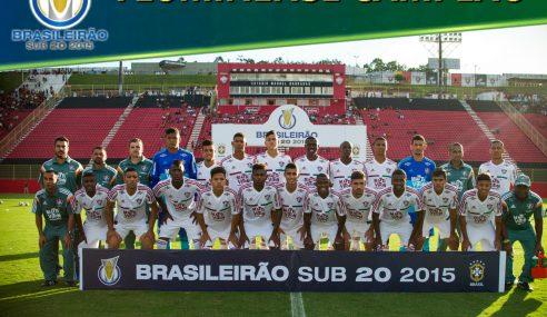EXCLUSIVO! Fluminense segue como o melhor na história do Brasileirão Sub-20