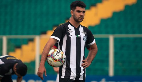 CRB anuncia meia revelado pelo Vasco