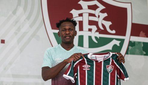 Fluminense rescinde contrato de atleta angolano