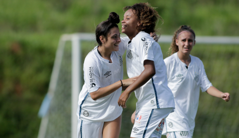 Santos vence Atlético-MG e garante classificação antecipada no Brasileirão Feminino Sub-18