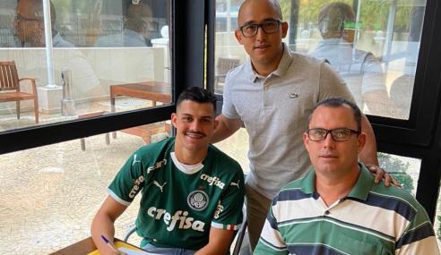 Palmeiras contrata lateral do Novorizontino para o sub-20