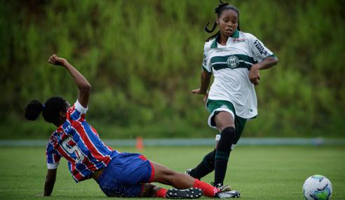 Toledo/Coritiba goleia Bahia na despedida das equipes do Brasileirão Feminino Sub-18