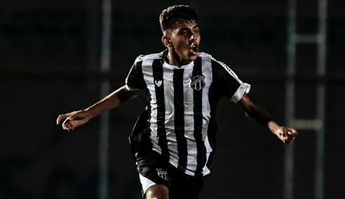 Ceará promove meia convocado pela Seleção Sub-17 ao profissional