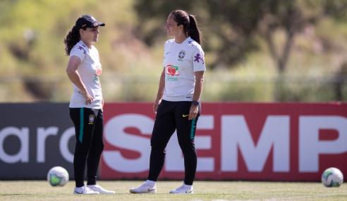 Seleção Feminina Sub-17 encerra período de treinos com nova auxiliar