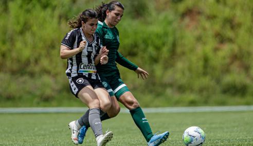 Botafogo e Goiás empatam e se despedem do Brasileirão Feminino Sub-18