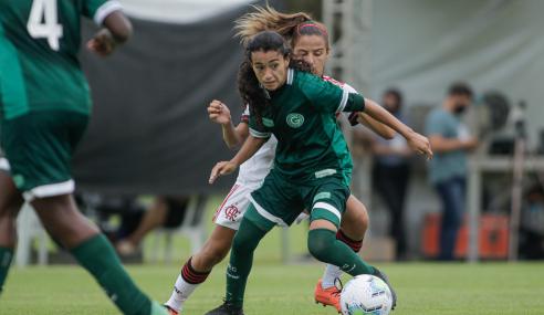 Flamengo desperdiça pênalti nos acréscimos e perde para o Goiás no Brasileirão Feminino Sub-18