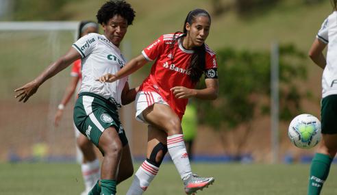 Internacional e Palmeiras empatam na abertura da segunda fase do Brasileirão Feminino Sub-18