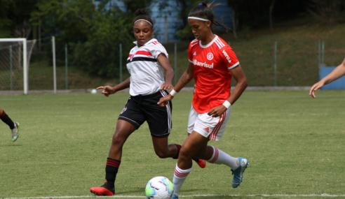 São Paulo vence Internacional fora de casa pelas semifinais do Brasileirão Feminino Sub-18