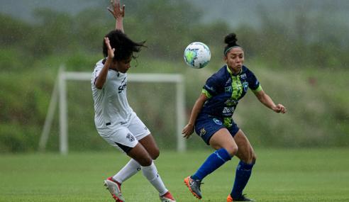 Minas Brasília e Ceará voltam a empatar e ficam distantes da classificação no Brasileirão Feminino Sub-18
