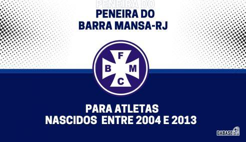 Barra Mansa-RJ realizará peneira para cinco categorias
