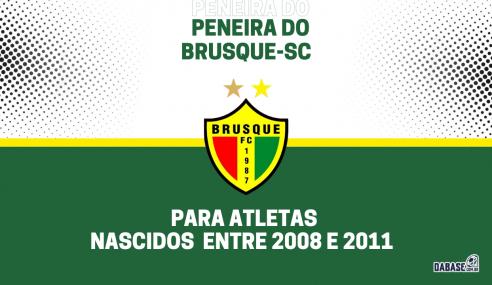 Brusque-SC realizará peneira para duas categorias