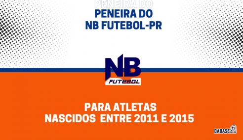 NB Futebol realizará peneira para cinco categorias