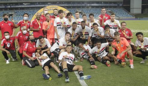 Nos pênaltis, São Paulo bate Fluminense e conquista Supercopa do Brasil Sub-17
