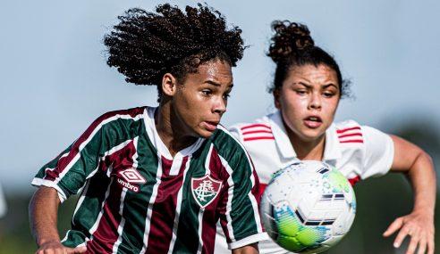São Paulo derrota Fluminense pela segunda fase do Brasileirão Feminino Sub-18