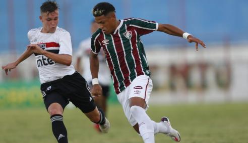 CBF marca duelo entre Fluminense e São Paulo, pela Supercopa do Brasil Sub-17