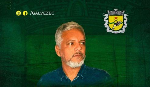 Galvez acerta com novo coordenador para as categorias de base