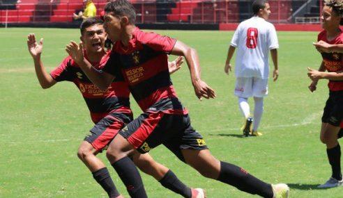 Semifinais do Pernambucano Sub-15 começam com goleadas