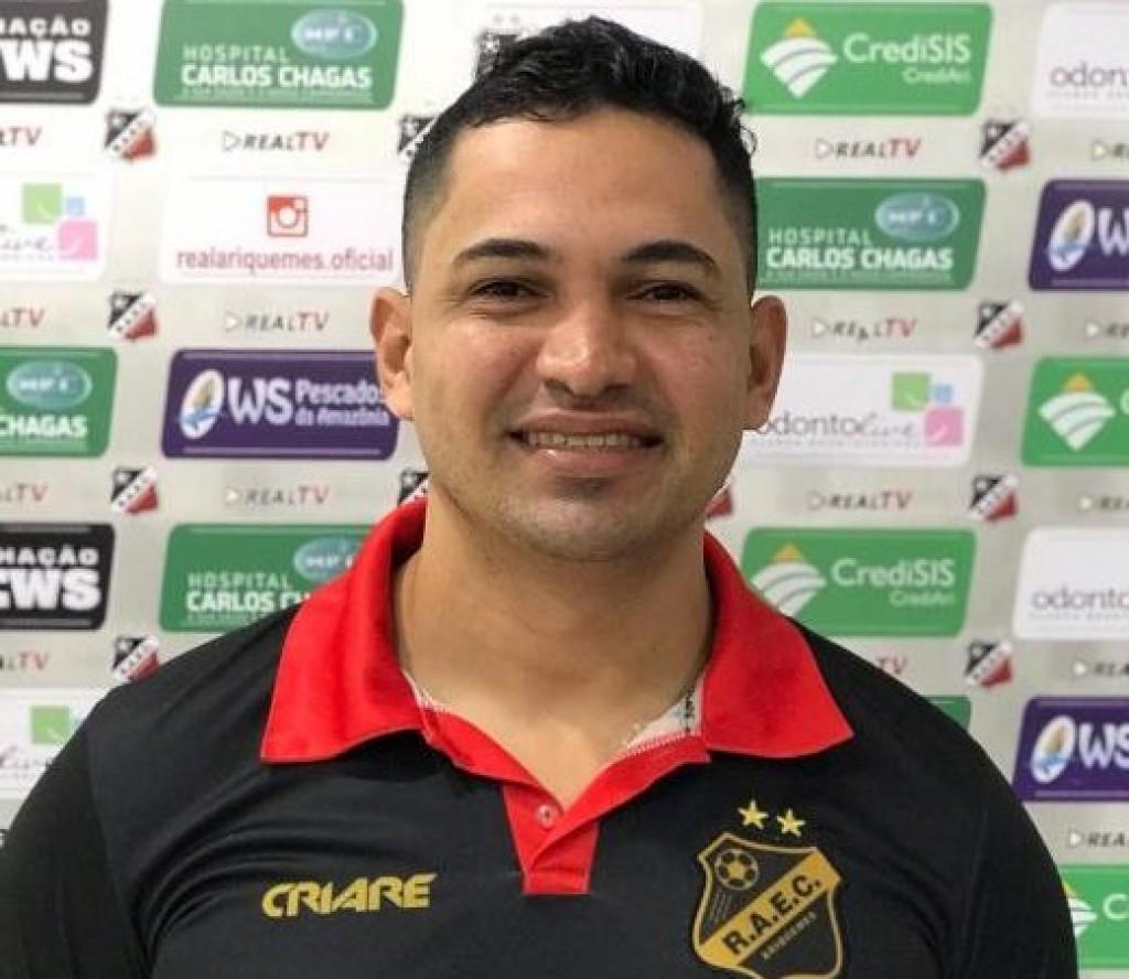 Paulo Eduardo é  novo técnico do time sub-20 do Real Ariquemes