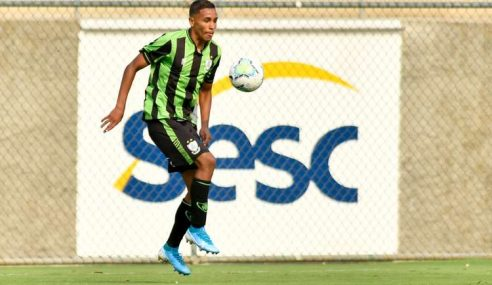 América-MG acerta empréstimo de destaque da base para o Flamengo