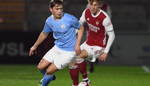 Manchester City vence Arsenal fora e segue na ponta do Inglês Sub-23