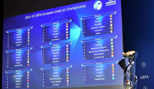 Fase de classificação para a Euro Sub-21 de 2023 tem grupos definidos