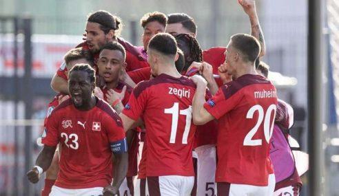 Euro Sub-21: Inglaterra estreia com derrota diante da Suíça