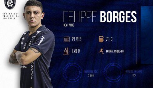 Remo confirma chegada de Felippe Borges