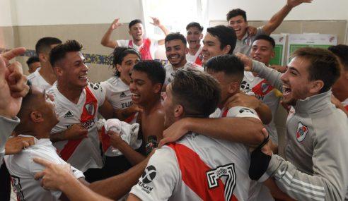 River vence clássico contra o Boca fora de casa pelo Argentino de Aspirantes